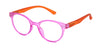 ST1957R - Wholesale Women's Frosted Two Tone Reading Glasses in Purple