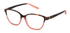 ST1958R - Wholesale Two Tone Cat Eye Reading Glasses in Orange