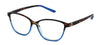 ST1958R - Wholesale Two Tone Cat Eye Reading Glasses in Blue