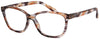 ST1963R - Wholesale Translucent Brush Stroke Cat Eye Reading Glasses
