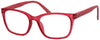 ST1965R - Women's Frosted Bohemian Reading Glasses