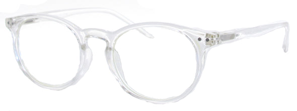 ST3441CG - Wholesale Blue Light Blocking Round Keyhole Style Computer Glasses