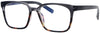 ST3457CG - Wholesale Blue Light Blocking Men's Square Style Computer Glasses