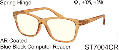 ST7004CR - Wholesale Blue Light Blocking AR Coated Computer Reading Glasses