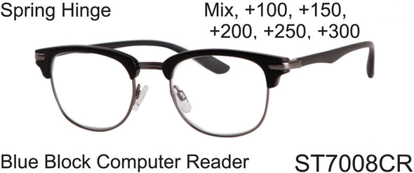 ST7008CR - Wholesale Blue Light Blocking Computer Reading Glasses