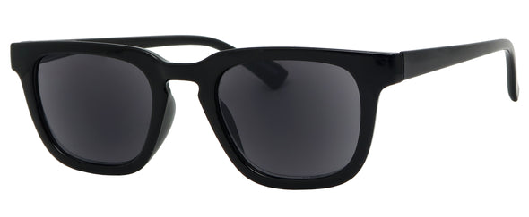 ST8132SR - Wholesale Unisex Basic Square Reading Sunglasses in black
