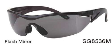 SG8536M - Wholesale Safety Glasses with Flash Mirror Lens