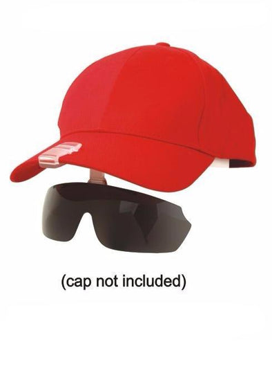 1366PL - Visor Clip On Polarized Sunglasses