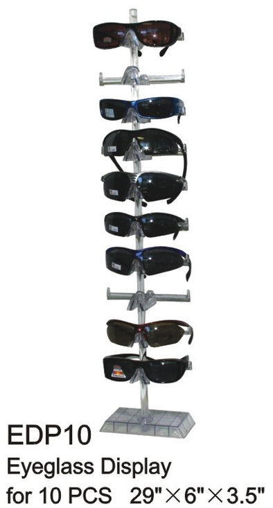 EDP10 - Wholesale Tabletop Eyeglass Display for 10 Pairs