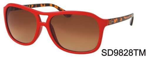 SD9828TM - Wholesale Fashionable Sunglasses in Red