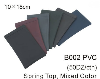 B002PVC - Wholesale Sprint Top Pouch for Sunglasses in multi colors