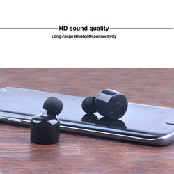 Luxtek Mini Invisible Bluetooth 4.2 Ear Buds For iPhone and Android