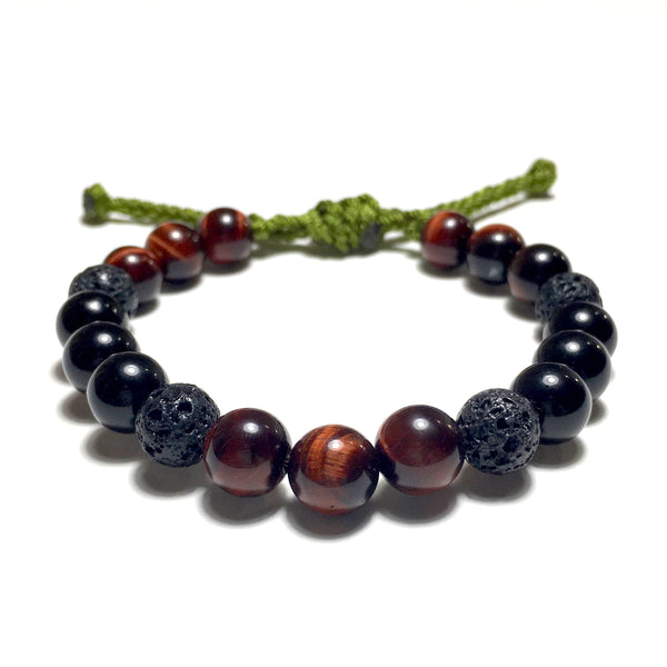 Adjustable Beaded Bracelet 8mm
