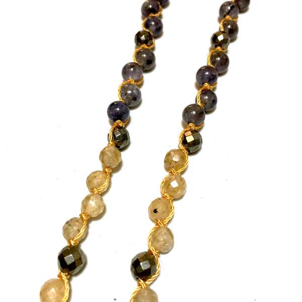 Sphalerite Mala Necklace