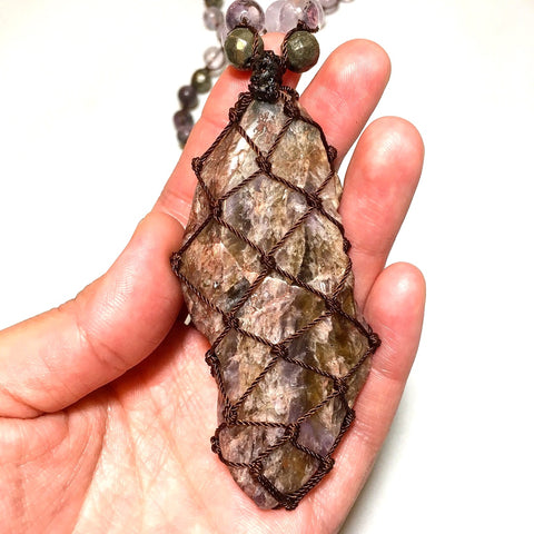 Auralite Mala Necklace