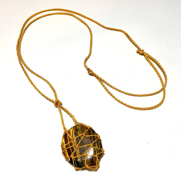 Tiger Iron Necklace