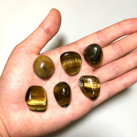 tumbled golden tiger eye stones