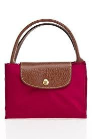 Longchamp Pliage Hortensia Magenta Pink Shoulder Bag New