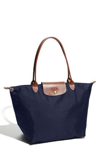 Longchamp Le Pliage Large Shoulder Tote Bag New Navy