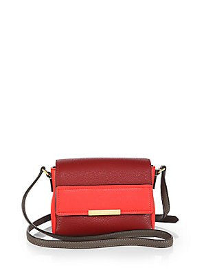 Marc Jacobs Cabernet Multi Crossbody Gold Leather Bag New
