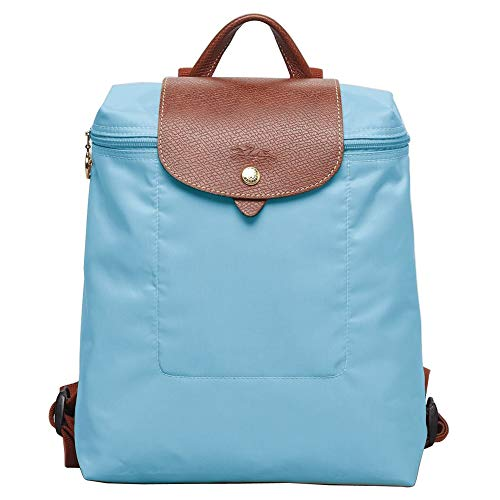 Longchamp Le Pliage Backpack Blue Bag New