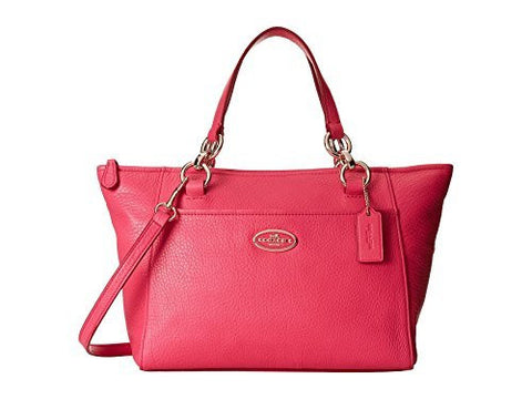 Coach 35030 Mini Ellis Tote in Pink Ruby