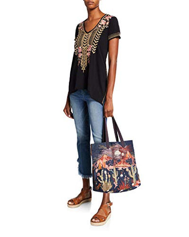 3J Workshop by Johnny Was Women's Tote bag, Denim, O/S