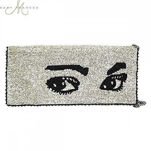 Mary Frances Watch Out Clutch Handbag