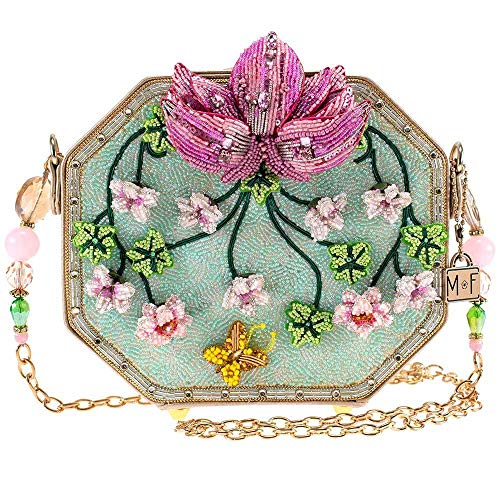 Mary Frances Disney Live Action Mulan Lotus Flower Crossbody Handbag Purse Multi