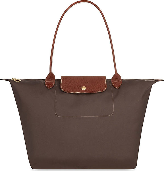 Longchamp Small Le Pliage Shoulder Bag Terra Brown Bag