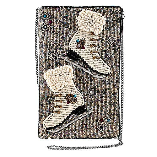 Mary Frances Cheap Skate Beaded Crossbody Phone Bag