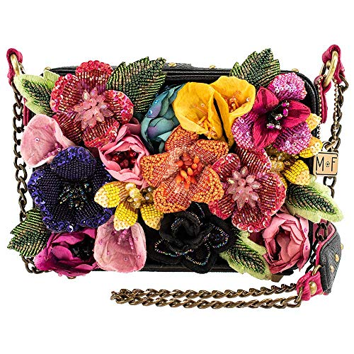 Mary Frances Blooming Beauty, Embellished Crossbody Handbag Bag NEW