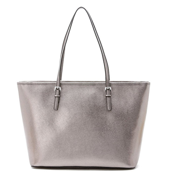 Michael Kors Nickel Jet Set Travel Tote