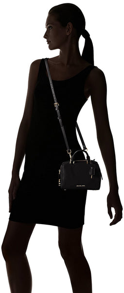 MICHAEL Michael Kors Kirby Extra Small Satchel Black Satchel Handbags