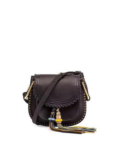 Chloe Mini Bag Navy Full Blue Small Hudson Tassels New