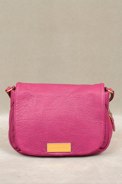 Marc by Marc Jacobs Washed Up The Nash Crossbody Bag in Hot Fuchsia