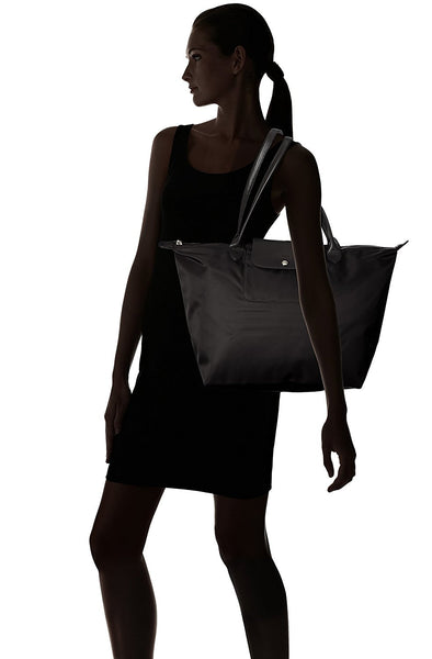 Longchamp Le Pliage Neo Large Black Shoulder Tote Bag