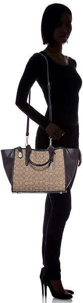 COACH Women's Signature Crosby Carryall