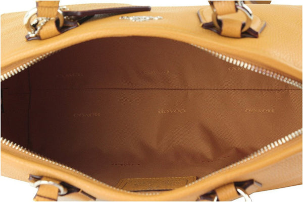 Coach Women's Nolita Satchel In Pebbled Leather, Style 35650