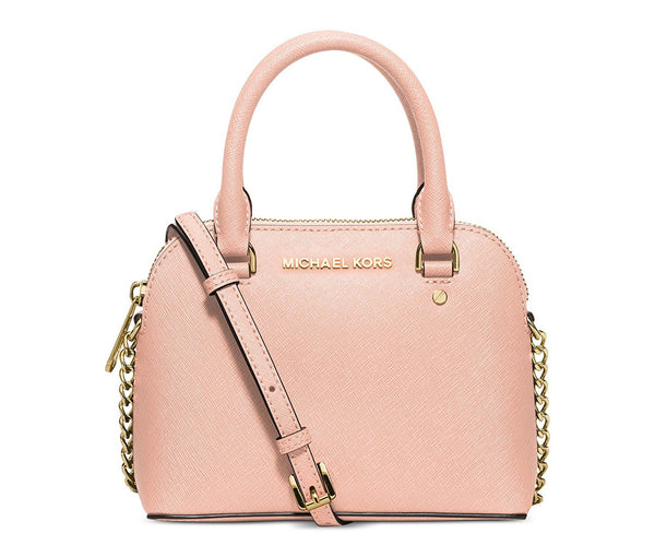 MICHAEL Michael Kors Womens Cindy Mini Crossbody (Pastel Pink)