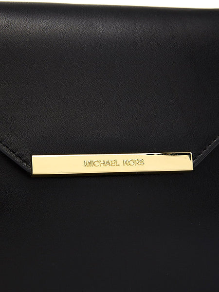 Michael Kors Lana Envelope Clutch Leather New