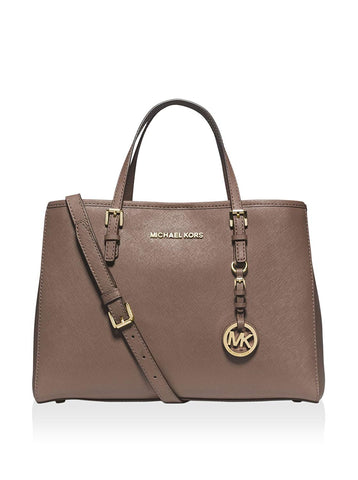 b00cf1f5528a MICHAEL Michael Kors Jet Set Travel Saffiano Leather Medium Tote