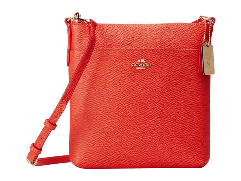 Coach Embossed Textured Leather North/South Swingpack Crossbody 52348
