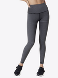 Vimmia X HIGH Waist Energy Wave Reversible Black Charcoal Legging Leggings New