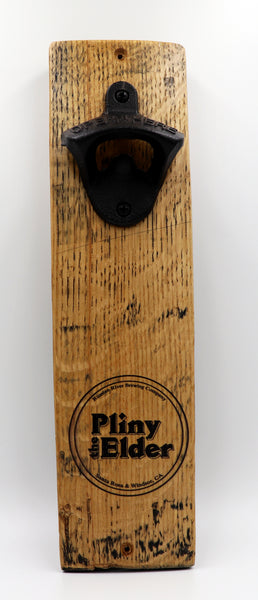 Pliny the Elder Barrel Stave Bottle Opener
