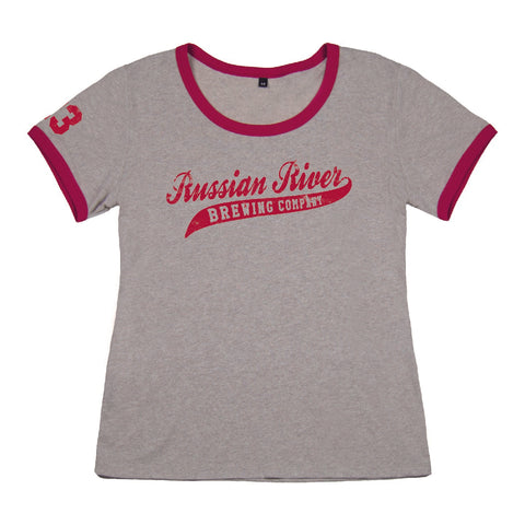 Farm Fresh Ladies Baseball Ringer Tee