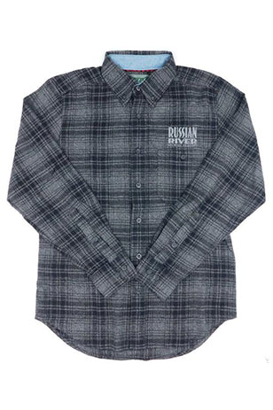 RRBC Flannel Dark Grey - Men's