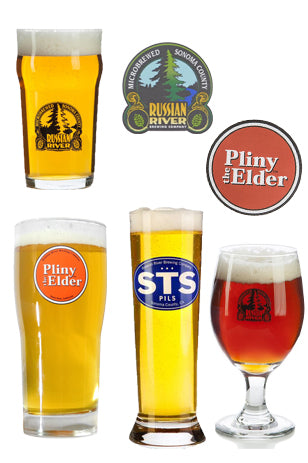 Russian River Glassware Mix Pack