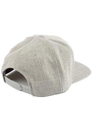 RRBC Patch Snapback Hat - Heather Gray