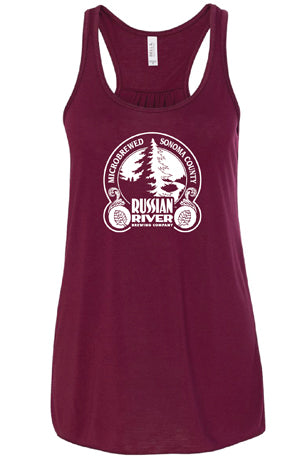 RRBC Maroon Ladies Tank Top